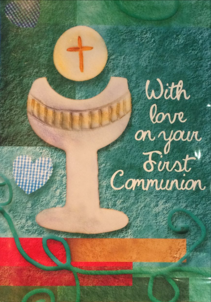 With love on your First Communion